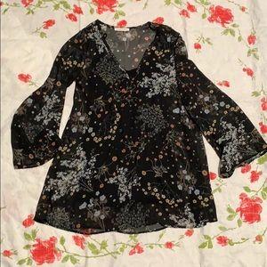 Honey Punch Floral Dress